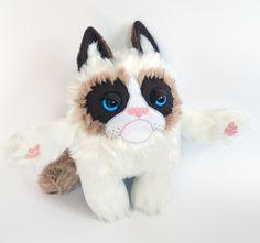 Very Grumpy Cat von entala auf DaWanda.com