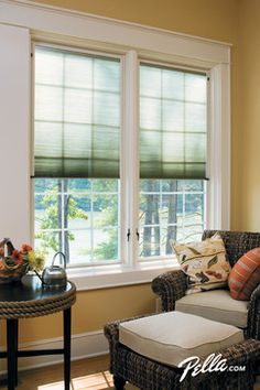 "Create your perfect ""me"" space with Pella® Designer Series® ENERGY STAR®-qualified casement windows."