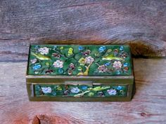 Vintage 1930's Chinese Cloisonne Inlaid by ShortPantsVintage