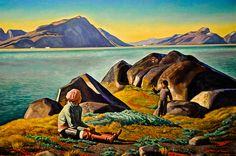 Rockwell Kent - Greenland Summer, 1932 at the Virginia Museum of Fine Arts (VMFA) Richmond VA