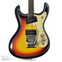 MOSRITE Ventures Guitar Sunburst 1965