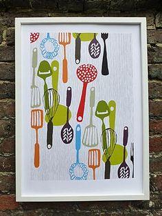 Kitchen utensils Patrick Edgeley