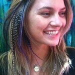 GRIZZLE AND PURPLE HAIR FEATHERS TOGETHER http://www.aheadofhair.biz/feather-hair-extensions--headfeathers.html - via @Michelle Slatter