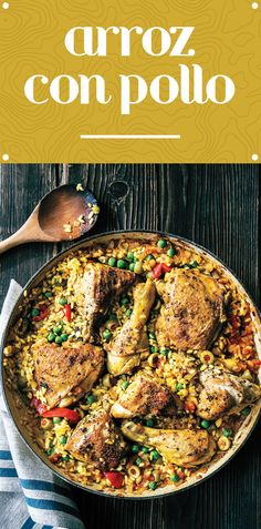 This hearty arroz con pollo is surprisingly easy to make. The one-pot ...