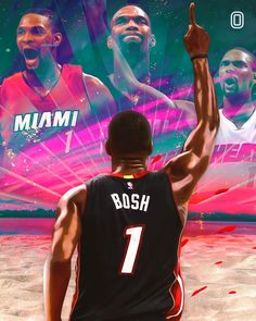 will never forget the runs you had in Miami ✊🏾 (Created by for American Airlines Arena, Eastern Conference, Downtown Miami, Miami Heat, Basketball Teams, Never Forget, Running, Instagram, Design