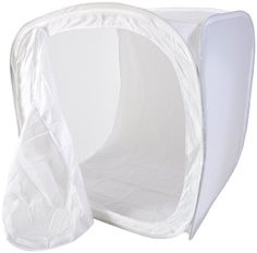 CowboyStudio 12in Product Photography Soft Box/Light Tent Cube with 4 Chroma Key Backdrops $15.00