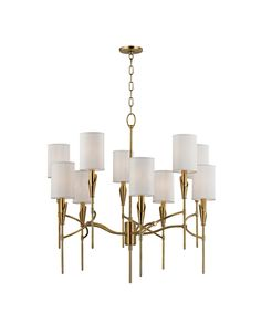 Hudson Valley 1305-AGB Tate Chandelier | Capitol Lighting 1800lighting.com
