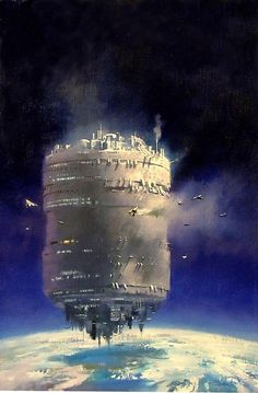 Retro-Futurism, Space Station by John Harris