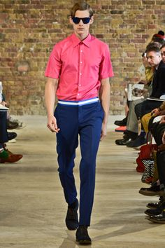 E. Tautz Spring 2013 Menswear Collection Slideshow on Style.com