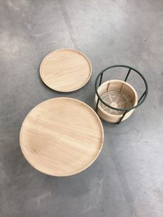 Basket Tables   http://www.alaingilles.com/en/project/74/basket-tables    Don't miss:  10 Versatile Coffee Tables with Removable Tray  http://vurni.com/multifunctional-tray-tables/