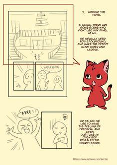 Little Art Reference things — chervenkotka: Simple Comic Panel Tutorial . Comic Tutorial, Manga Tutorial, Animation Tutorial, Comic Drawing, Manga Drawing, Art Reference Poses, Drawing Reference, Art Sketches, Art Drawings