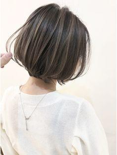 Medium Hair Cuts, Short Hair Cuts, Medium Hair Styles, Hidden Hair Color, Curl Hair With Straightener, Korean Short Hair, Cabello Hair, Short Hair Trends, Shot Hair Styles