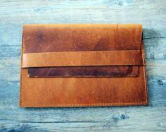 Premium leather ipad sleeve pouch, Premium oiled leather ipad 4 case covers, ipad 2 3 4 covers JKT02