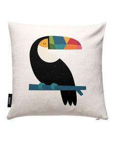 Rainbow Toucan - Andy Westface - Kissenbezug