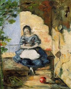 Paul Cézanne 1839-1906) - Girl, 1872-73