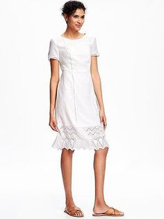 Old Navy Women's White Eyelet Midi Dress Size S for USD14.99 #Clothing #Shoes #Accessories #Women's Like the Old Navy Women's White Eyelet Midi Dress Size S? Get it at USD14.99!