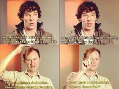 Ben and Mark about Sherlock