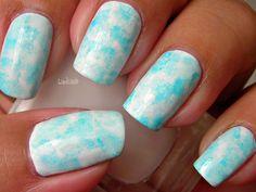Nail Art - Head in the Clouds - Decoracion de Uñas (+lista de reproducción)