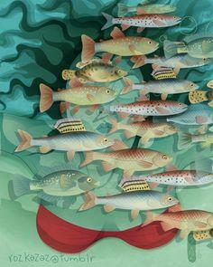 Perceptions/self FISH Animated GIF on Behance
