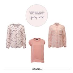 #Twitter some #blouses for a wonderful spring 2014 twitter.com/MondelliStyle  #Iheart Bluse  #Custommade Bluse  #Twin-Set Shirt