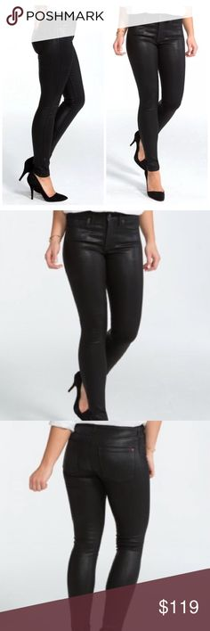Spanx 5 Pocket Skinny Jeans NWT Spanx 5 Pocket Skinny Jeans. Color: black lacquer. Size: 29. Feel free to ask any questions or make an offer! SPANX Jeans Skinny