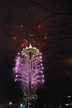 New Year's at the Space Needle