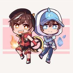 Anime Galaxy, Boboiboy Galaxy, My Childhood Friend, Boboiboy Anime, Friend Anime, Anime Version, Cute Anime Boy, Picts, Doraemon