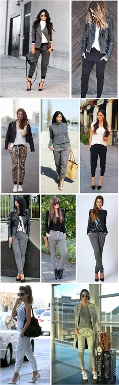 VISIT FOR MORE winter jogging pants outfit 50 best outfits The post winter jog Look Fashion, Autumn Fashion, Fashion Outfits, Womens Fashion, Jogger Pants Outfit, How To Wear Joggers, Moda Casual, Fashion Joggers, Sporty Outfits