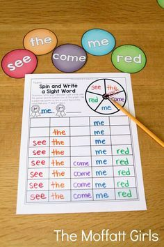Sight Words are such an important component to any successful reading program. When kids learn sight words along with phonics skills, they become strong and confident readers! Did you know… *12 Sight Words make up 25% of those we read and write *100 Sight Words make up 50% of those we read and write *About...