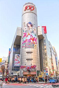 Tokyo, Shibuya, Tour 109 : Une tour uniquement dédiée à la mode féminine (y'a aussi une tour 109 pour les hommes un peu plus loin, mais nettement moins connu).