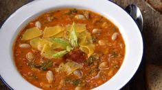 Toskánská fazolová polévka Foto: