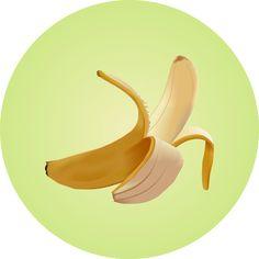 Banana (vector mesh) @creativework247
