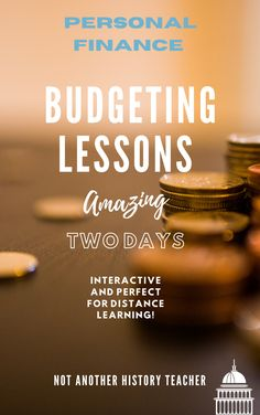 Step up your personal finance teaching with this two-day budgeting lessons! These economic activities will help your students learn real-world skills about money and how to budget. Engage your students with hands-on lessons about money management in a way that will lead them to build critical thinking skills! These lessons are perfect for distance learning!