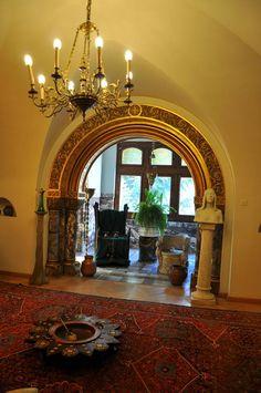 Art Nouveau  at Pelisor Castle in Sinaia