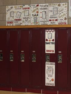 great idea to put on football players lockers before a big game! Or for the cheerleaders before a big competition!