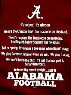 the one and only rollllllllllllllllll tide!!!!