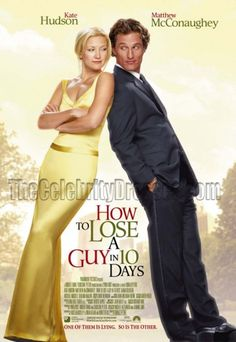 How to Lose a Guy in 10 Days Kate Hudson and Matthew McConaughey are both excellent in this entertaining, amusing and funny romantic comedy Matthew Mcconaughey, See Movie, Movie List, Movie Tv, Movie Sequels, Kate Hudson, Movies Showing, Movies And Tv Shows, Thriller