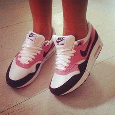 Pink, White & Black Nike Shoes