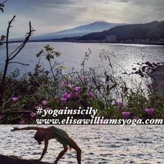 Treat yourself to an uplifting holiday in Sicily. This stunning Italian island abounds with iconic historic sites & awe inspiring natural attractions that include the famous Mount Etna volcano & mile upon mile of fabulous beaches. Our beachside yoga retreat takes place from 22-29 September see www.elisawilliamsyoga.com/yoga-in-Sicily for booking details   #yogasicily #yogainsicily #yoga #retreat #yogaholidays #indacoretreat