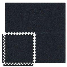 Alessco SoftRubber Set in Black / Royal Blue Size: 10' x 16'