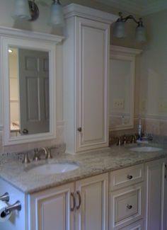 Master Bath Custom Vanity  Medfield MA  www.interiorexpressions.homestead.com