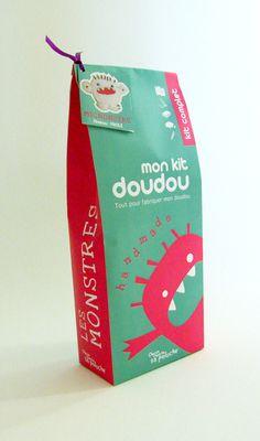 Vrac, Kit Doudou Monstre est une création orginale de Tabix sur DaWanda