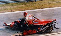 Gilles Villeneuve: Another day at the office.