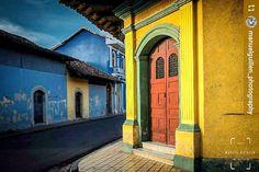 http://OkGranada.com By @manuelguillen_photography: Casa Granadina #Granada #Nicaragua #ILoveGranada #AmoGranada #Travel #CentralAmerica #Doors