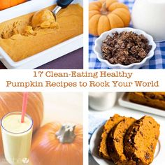 17 Clean-Eating Healthy Pumpkin Recipes to Rock Your World
