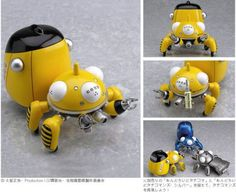 Buy PVC figures - Ghost In the Shell PVC Figure - Nendoroid Tachikoma Yellow - Archonia.com