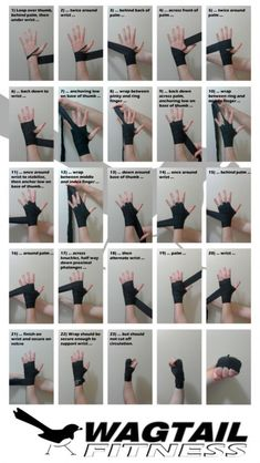 Martial arts - Short guide which outlines a fast and secure way to wrap the hands for boxing Good to know for when I start wrapping in kickboxing Muay Thai, Boxe Fitness, Boxing Hand Wraps, Boxing Training, Boxing Boxing, Boxing Workout With Bag, Punching Bag Workout, Kick Boxing Girl, Martial Arts Training