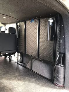 Designers and Manufacturers of Folding beds for, VW VW VW Kombi & VW Transporter Slide out beds, Vw Transporter Campervan, Kombi Camper, Campervan Bed, Camper Beds, Kombi Home, Campervan Interior, Vw T5 Interior, Enclosed Trailer Camper, Cargo Trailer Camper