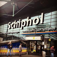Amsterdam Airport Schiphol (AMS) in Schiphol, Noord-Holland