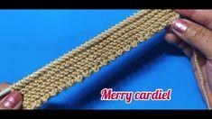 Knitting Videos, Merry, Make It Yourself, Crochet, Kuchen, Molde, Needlepoint, Ganchillo, Crocheting